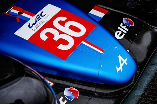 Alpine LMP1 car launch