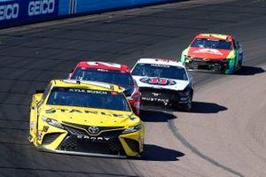 Kyle Busch, Joe Gibbs Racing, Toyota Camry STANLEY, Christopher Bell, Joe Gibbs Racing, Toyota Camry Rheem