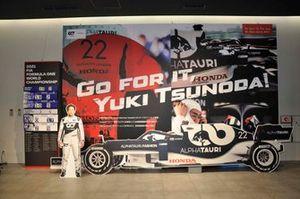 Yuki Tsunoda, board