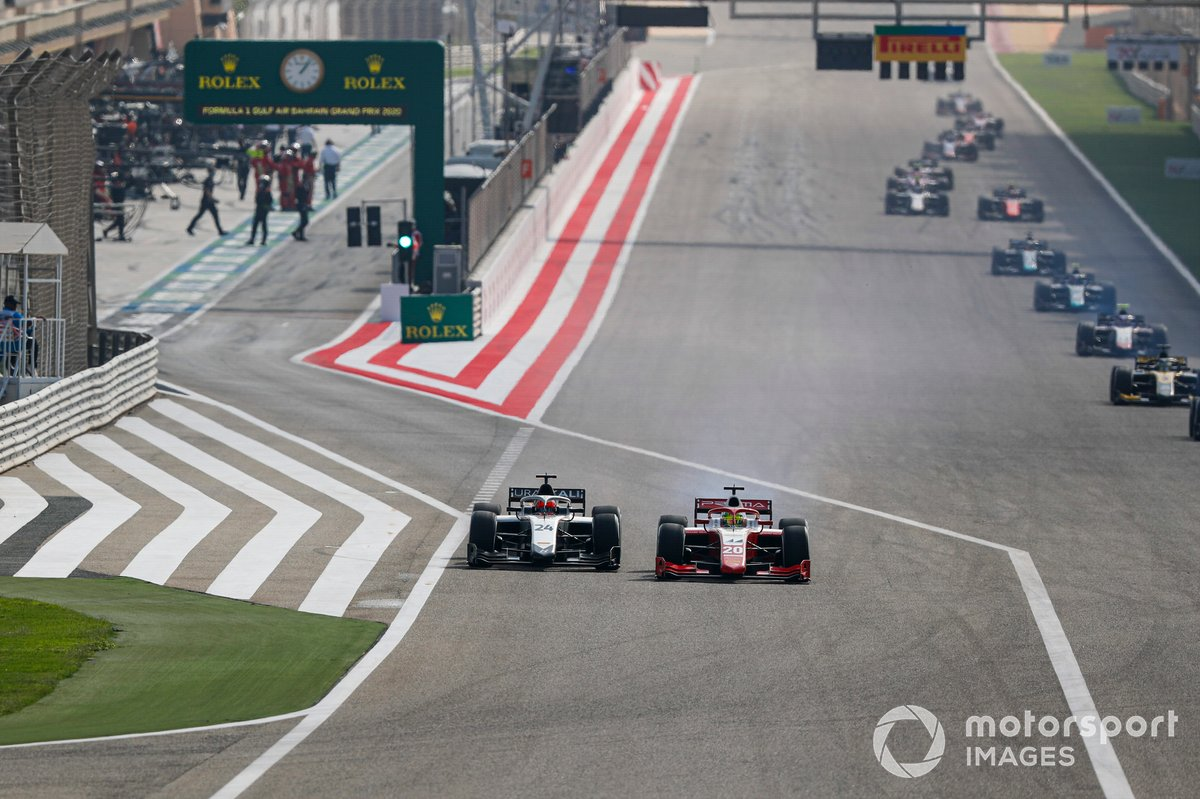 Mick Schumacher, Prema Racing y Nikita Mazepin, Hitech Grand Prix