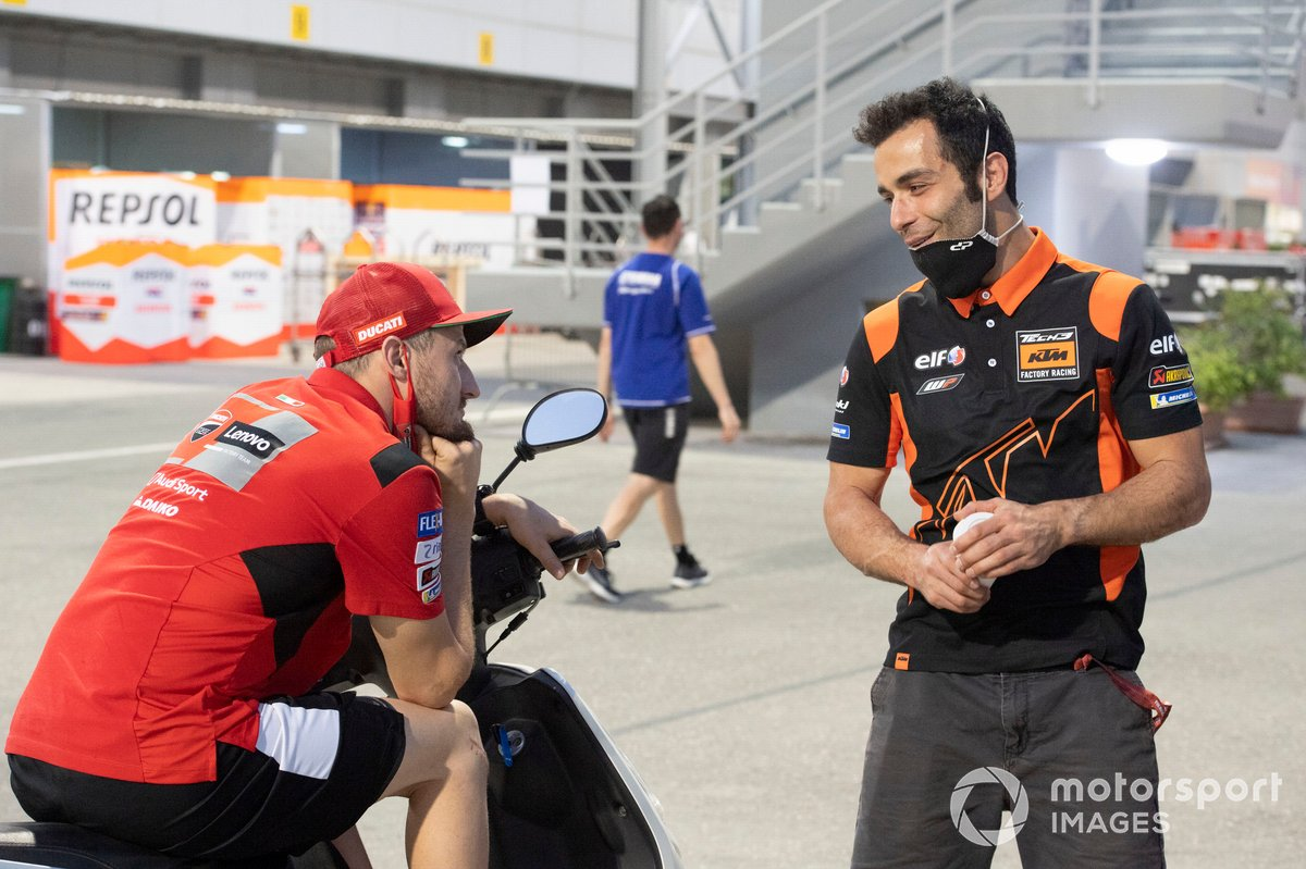 Jack Miller, Ducati Team, Danilo Petrucci, KTM Tech3