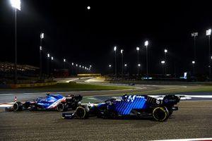 Фернандо Алонсо, Alpine A521, Николя Латифи, Williams FW43B