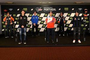 Miguel Oliveira, Red Bull KTM Factory Racing, Fabio Quartararo, Yamaha Factory Racing, Joan Mir, Team Suzuki MotoGP, Johann Zarco, Pramac Racing, Marc Marquez, Repsol Honda Team, Maverick Vinales, Yamaha Factory Racing