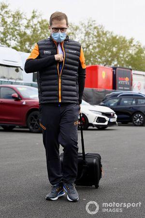 Andreas Seidl, teambaas, McLaren
