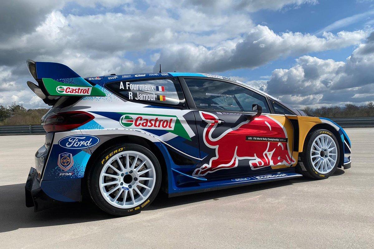 Adrien Fourmaux, Renaud Jamoul, M-Sport Ford Fiesta WRC