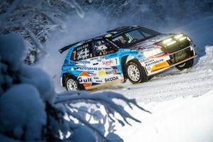 Teemu Asunmaa, Marko Salminen, Skoda Fabia Rally2 evo