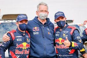 Sven Quandt, Propriétaire de X-Raid Team, avec #302 X-Raid Mini JCW Team: Stéphane Peterhansel, Edouard Boulanger
