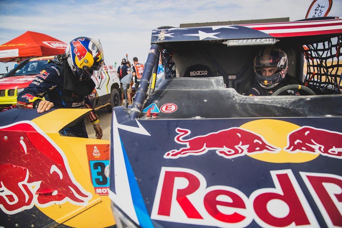 #383 Red Bull Off-Road Team USA OT3: Seth Quintero, Dennis Zenz