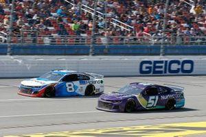 Tyler Reddick, Richard Childress Racing, Chevrolet Camaro Roland DG, Cody Ware, Petty Ware Racing, Chevrolet Camaro NURTEC ODT