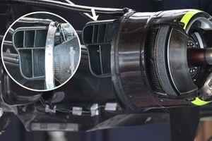 Red Bull Racing RB16B brake duct detail