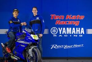 Dominique Aegerter, Ten Kate Racing Yamaha with Kervin Bos, Ten Kate Racing team manager