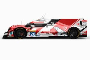 High Class Racing Oreca 07 LMP2: Jan Magnussen, Anders Fjordbach and Dennis Andersen