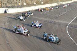 Макс Чилтон, Chip Ganassi Racing Honda, и Уилл Пауэр, Team Penske Chevrolet