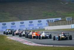 Chinese F4 Race action