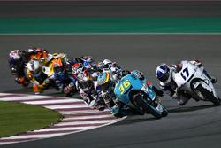 Joan Mir, Leopard Racing; John McPhee, British Talent Team; Jorge Martin, Del Conca Gresini Racing M