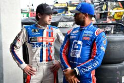 Ryan Blaney, Team Penske Ford yDarrell Wallace Jr., Roush Fenway Racing Ford