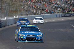 Jimmie Johnson, Hendrick Motorsports Chevrolet, Chase Elliott, Hendrick Motorsports Chevrolet, Brad