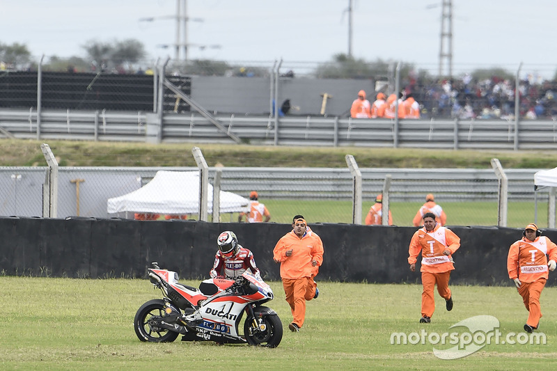 Jorge Lorenzo, 7 crashes