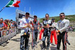 Sebastien Ogier, M-Sport World Rally Team WRC, Thierry Neuville, Hyundai Motorsport WRC, Julien Ingr