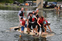 Sean Bratches, Formula One Managing Director, Commercial Operations at the raft race