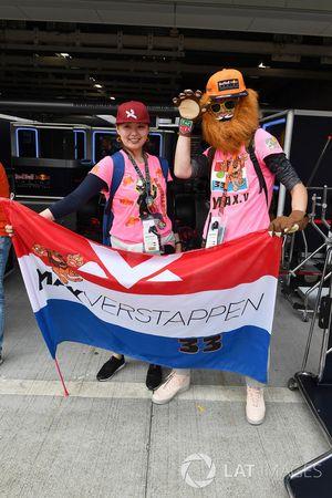 Max Verstappen, Red Bull Racing fans