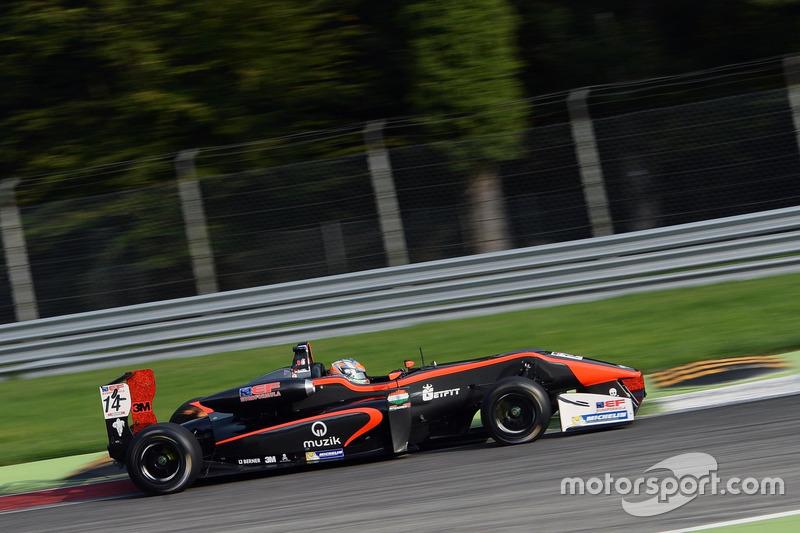 Tarun Reddy (Euroformula Open Jerez)