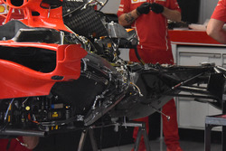 Ferrari SF70H gear box