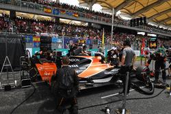 Автомобиль MCL32 Фернандо Алонсо, McLaren
