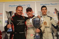 Patrik Zajelsnik, Marcel Steiner, Pierre Courroye, podium