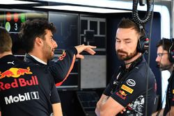 Daniel Ricciardo, Red Bull Racing en Simon Rennie, Red Bull Racing Race Engineer