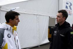 #98 Rowe Racing, BMW M6 GT3: Bruno Spengler and #85 Mercedes-AMG Team HTP Motorsport, Mercedes-AMG G