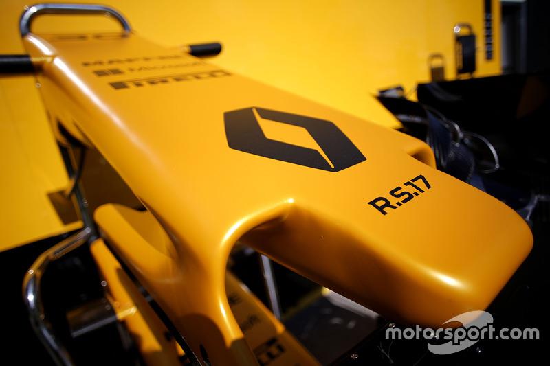 Die Nase des Renault RS17