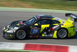 #29 Forch Racing powered by Olimp Porsche 991 GT3 R: Robert Lukas, Marcin Jedlinski, Patrick Eisemann
