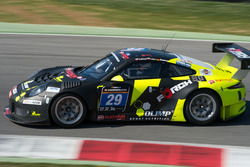 #29 Forch Racing powered by Olimp Porsche 991 GT3 R: Robert Lukas, Marcin Jedlinski, Patrick Eiseman