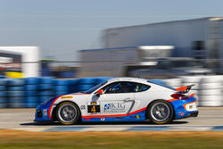#4 Team TGM Porsche Cayman GT4 MR: Ted Giovanis, Guy Cosmo, Hugh Plumb