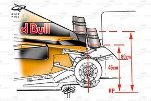 Arrows A22 2001 Monaco rear wings