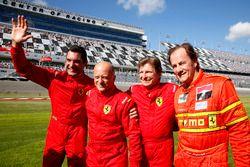 Max Papis; Mauro Baldi; Didier Theys; Arie Luyendyk