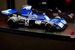 Jackie Stewart'ın Tyrrell'inın modeli