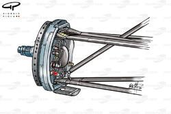 Ferrari F2001 front brake assembly