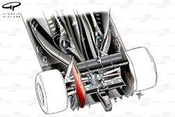 Lotus E20 periscope style exhausts