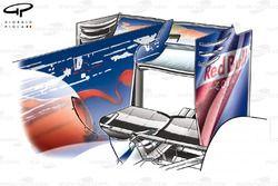Toro Rosso STR5 rear wing