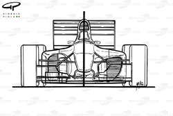 Сравнение Ferrari 412T1B (646) 1994 года с моделью 412T1