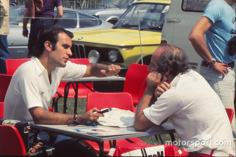 Giorgio Piola avec Denny Hulme