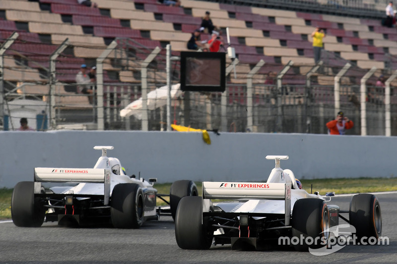 Patrick Friesacher, F1 Experiences 2-Seater driver and Zsolt Baumgartner, F1 Experiences 2-Seater driver