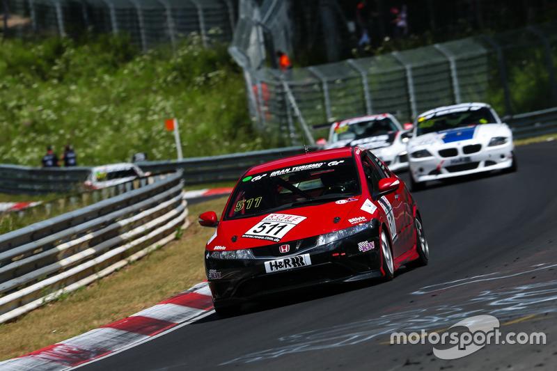 Frank Kuhlmann, Mark Giesbrecht, Michael Eichhorn, Honda Civic Type R CWE
