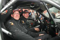 Christian Blanchard, Frédéric Helfer, Renault Clio S1600, Rally Team Christian Blanchard-Frédéric He