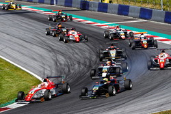 Marcus Armstrong, Prema Powerteam, Jonathan Aberdein, Motopark, Nicklas Nielsen, US Racing