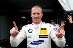 Il poleman Maxime Martin, BMW Team RBM, BMW M4 DTM