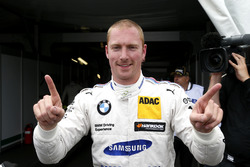 Polesitter Maxime Martin, BMW Team RBM, BMW M4 DTM