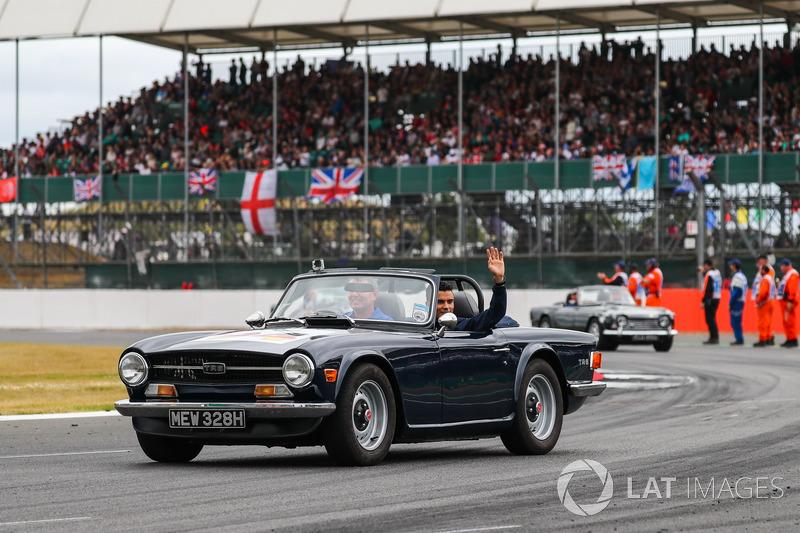 Pascal Wehrlein, Sauber en el desfile de pilotos